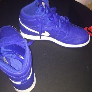 Air Jordan 1's (Blue)